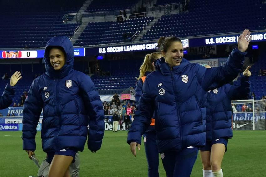 US Football Star Carli Lloyd Hails Tokyo Olympics Postponement 'Right Call'