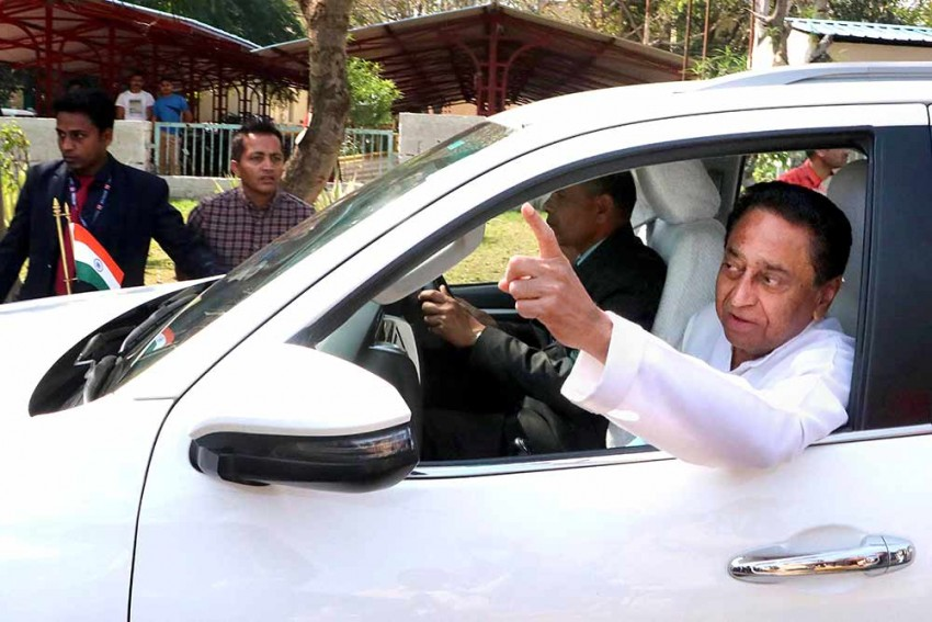 Journalist Who Attended Kamal Nath's Resignation Presser Tests Positive For Coronavirus