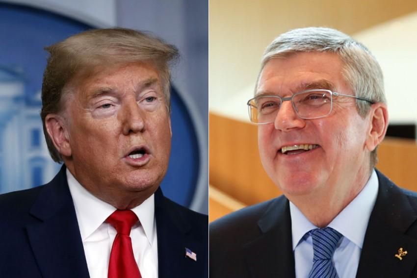 IOC Chief Thomas Bach Invokes US President Donald Trump In Defense Of Tokyo Olympics Decision