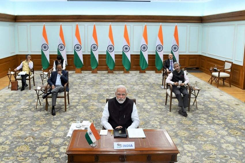 Coronavirus: PM Modi Pitches For New Crisis Management Protocol At G-20 Video Conference