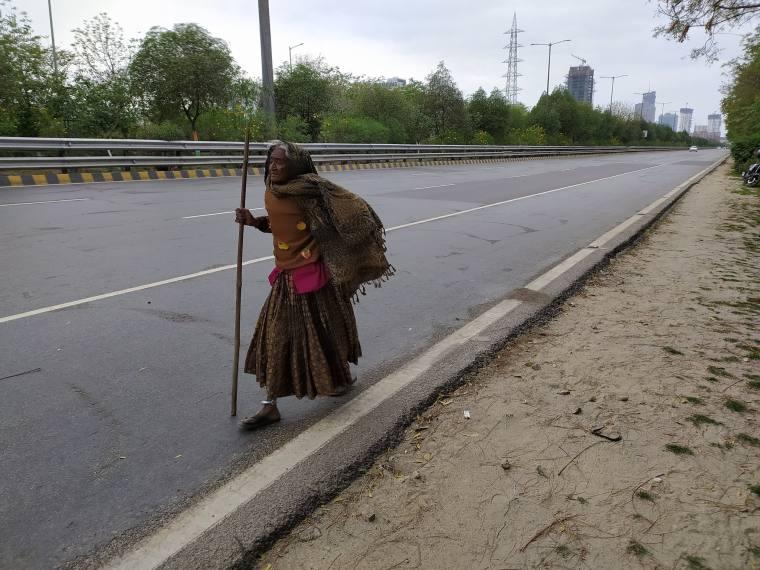 Hit By Coronavirus Lockdown, 90-Year-old Kajodi Trudges Home, 400 Km Away