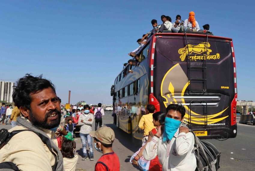 Soaring Bus Fares Exacerbate Distress Of Migrant Workers Amid Coronavirus Lockdown