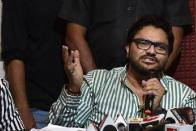 'Try Roaming Packs': Babul Supriyo To Rahul Gandhi After His Jibe At PM Modi
