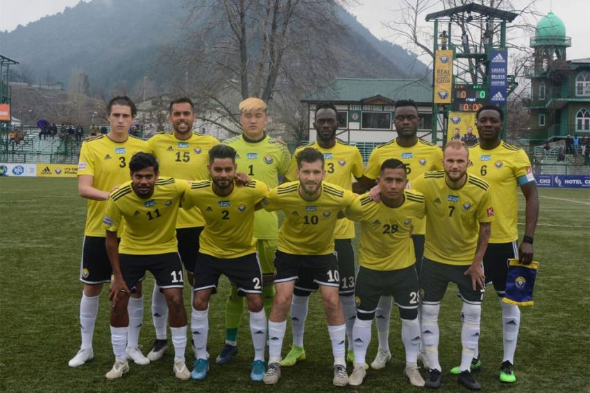 I-League: Real Kashmir Seek Revenge Against NEROCA