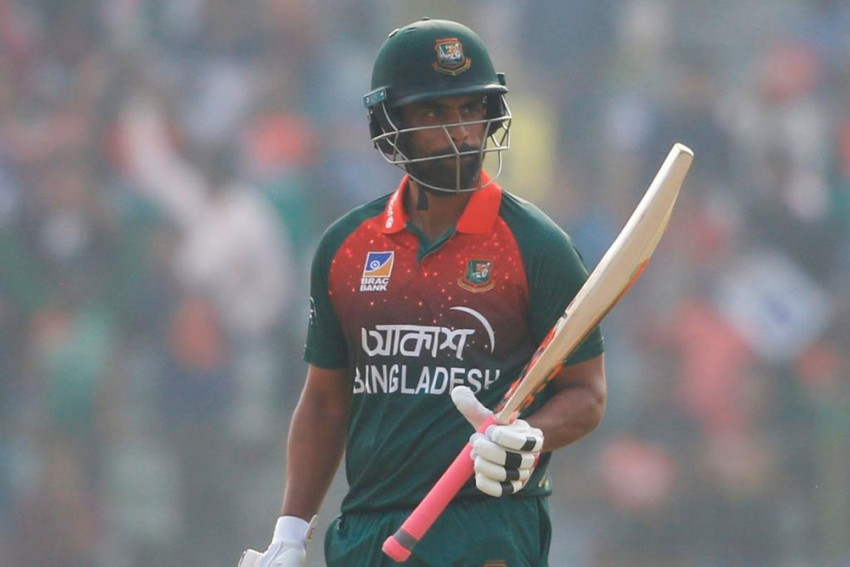 BAN Vs ZIM: Tamim Iqbal Becomes 1st Bangladesh Batsman To Score 7,000 ODI Runs