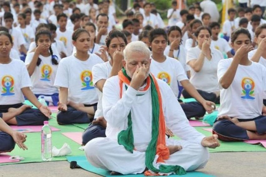 'Helps Reduce Stress And Anxiety': PM Modi Shares Video Of Yoga Asan