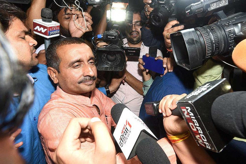 Ex-BJP MLA Sengar Convicted Of Culpable Homicide In Death Of Unnao Rape Victim's Father