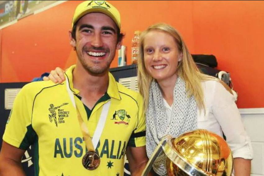 Mitchell Starc To Miss Final SA vs AUS ODI To Watch Wife Alyssa Healy In Women's T20 World Cup Final