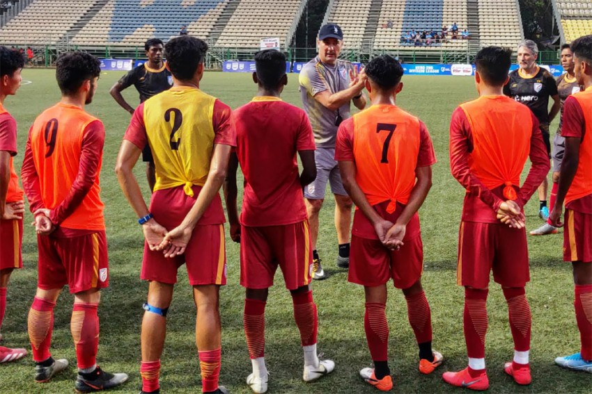 India Head Coach Igor Stimac Conducts 'Surprise' Training Session For Arrows