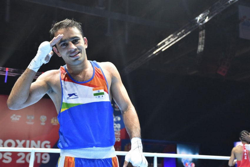 Asian Olympic Qualifiers: Indian Boxer Amit Panghal One Win Away From Tokyo Berth