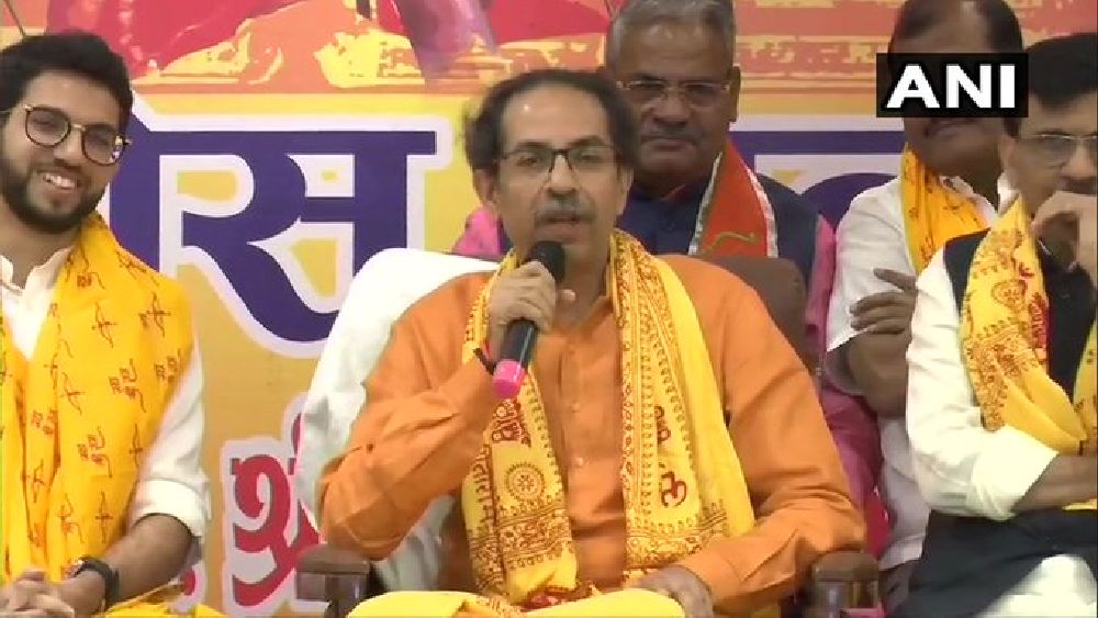 'Parted Ways With BJP, Not Hindutva': Uddhav Thackeray In Ayodhya