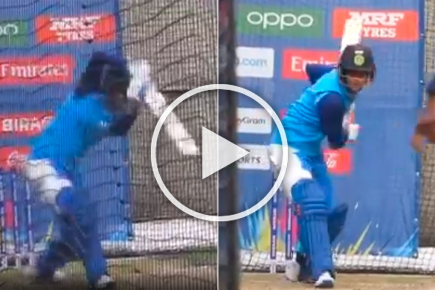 ICC Women's T20 World Cup: Smriti Mandhana Sets Melbourne Nets On Fire Ahead Of Final Against Australia - WATCH