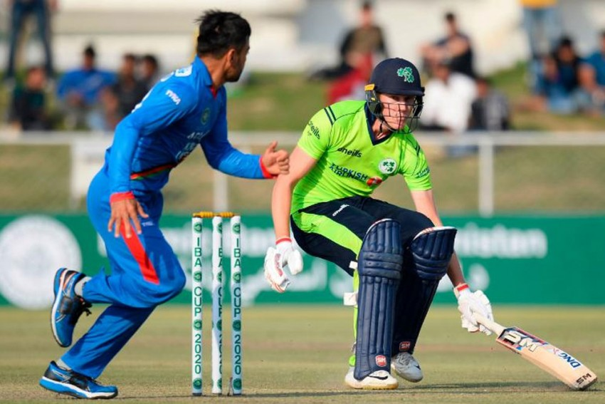 Mujeeb Ur Rahman Leaves Ireland In A Spin As Afghanistan Seal T20I Series