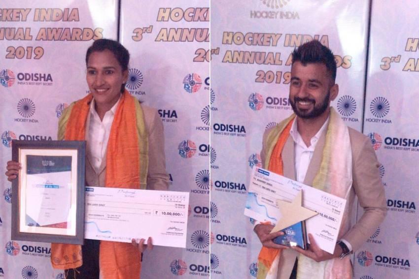 Hockey India Annual Awards: Manpreet Singh, Rani Rampal Bag 2019 Player Of The Year Awards