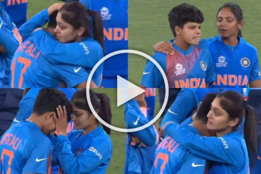 ICC Women's T20 World Cup: Indian Teammates Console Gutted Shafali Verma After Final Defeat Against Australia - WATCH