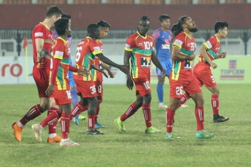 I-League: TRAU Rise To Fourth With 1-0 Win Over Indian Arrows