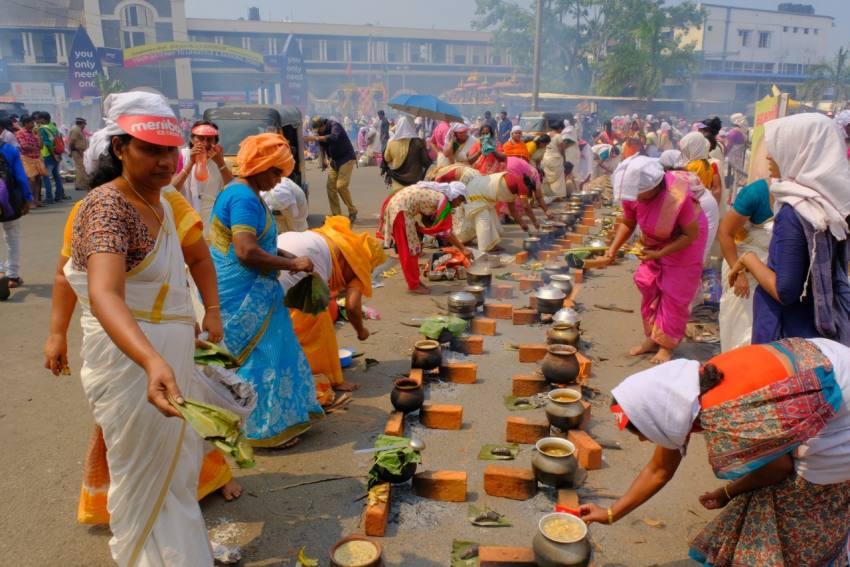 Amid Renewed Coronavirus Scare, Devotees Take Part In Attukal Pongala In Kerala