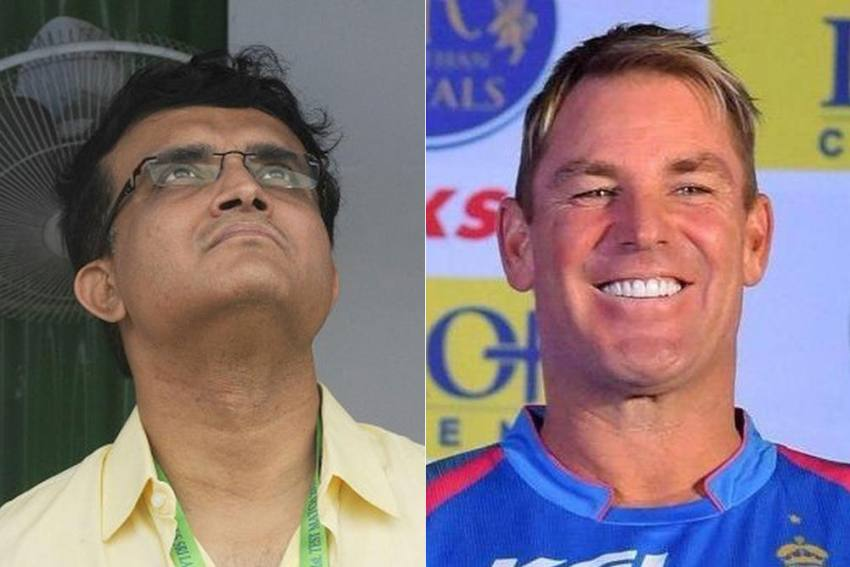 Shane Warne Picks Sourav Ganguly As Captain Of His Greatest Indian XI; No Place For VVS Laxman