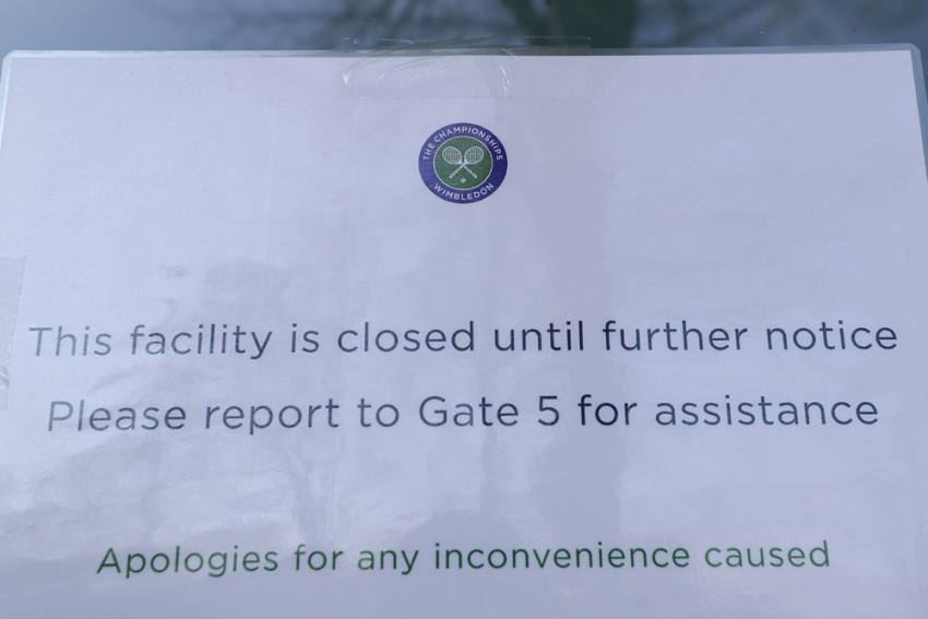 Wimbledon Canceled For First Time Since World War II Because Of Coronavirus Pandemic