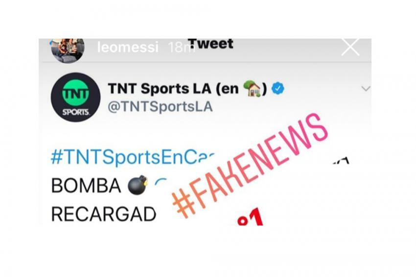 Lionel Messi Dismisses Inter Milan Transfer And Ronaldinho Bail Rumours As 'Fake News'