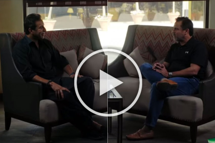 Current Cricketers Don't Compare Themselves With Their Heroes: Moin Khan Tells Wasim Akram - VIDEO