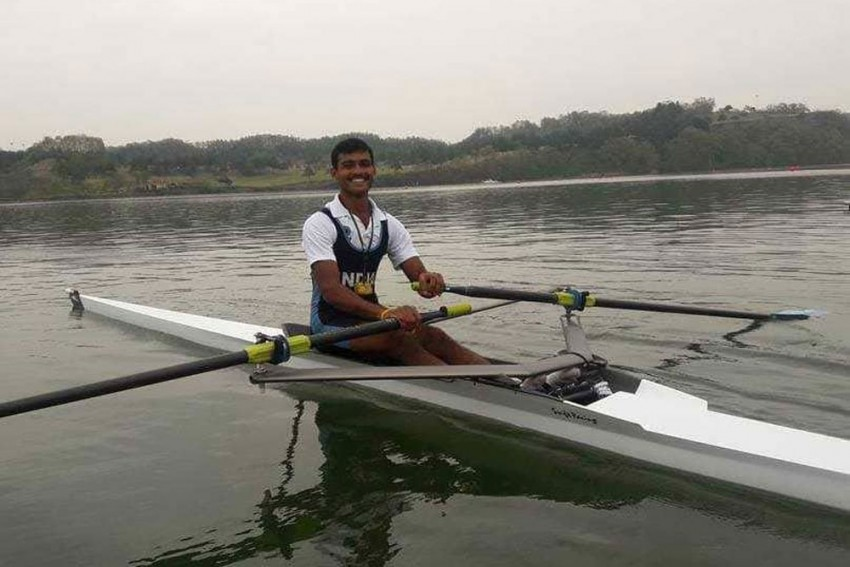 Lending A Helping Hand: Rower Dattu Bhokanal Goes On Sanitisation Drive