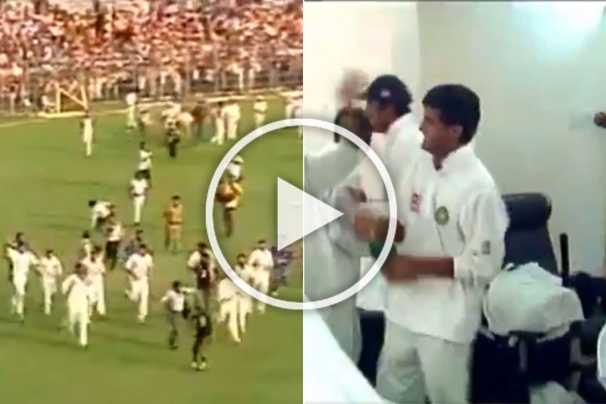 BCCI President Sourav Ganguly Remembers 2001 Kolkata Test Win - Relive India's Dressing Room Celebration