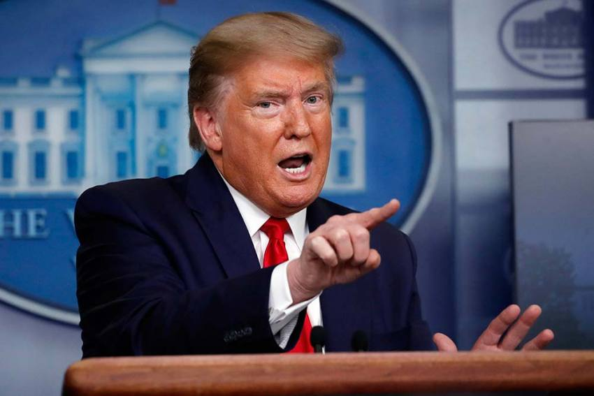 Donald Trump Halts WHO Funding For 'Covering Up' Spread Of Coronavirus