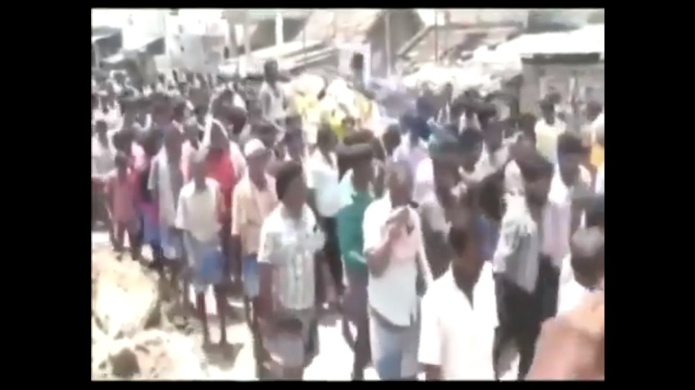 Hundreds Take Part In Jallikattu Winner Bull's Funeral Procession, Two Cops Suspended