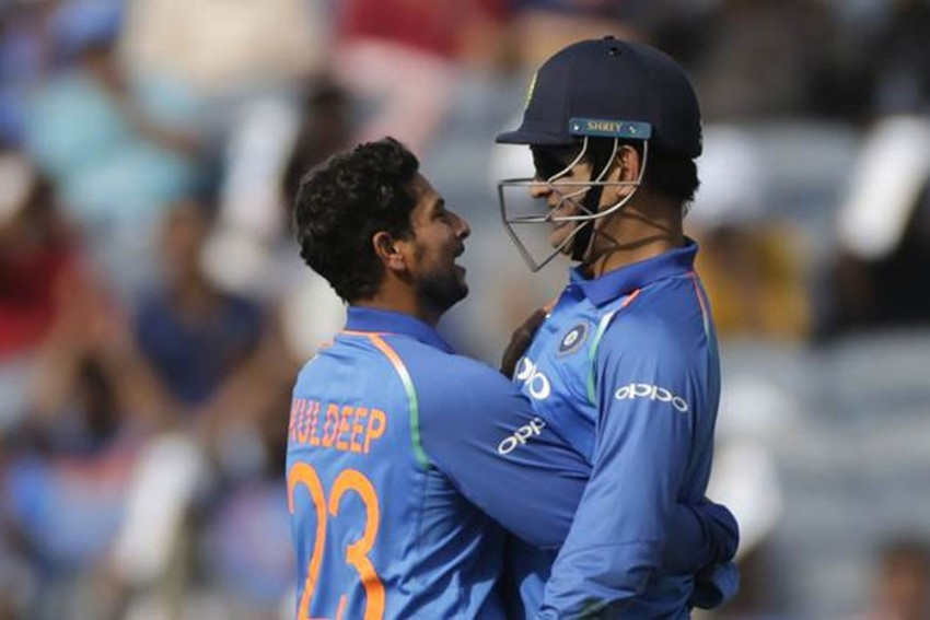 When 'Ice Cool' MS Dhoni Lost His Cool For First Time In 20 Years, Recalls Kuldeep Yadav