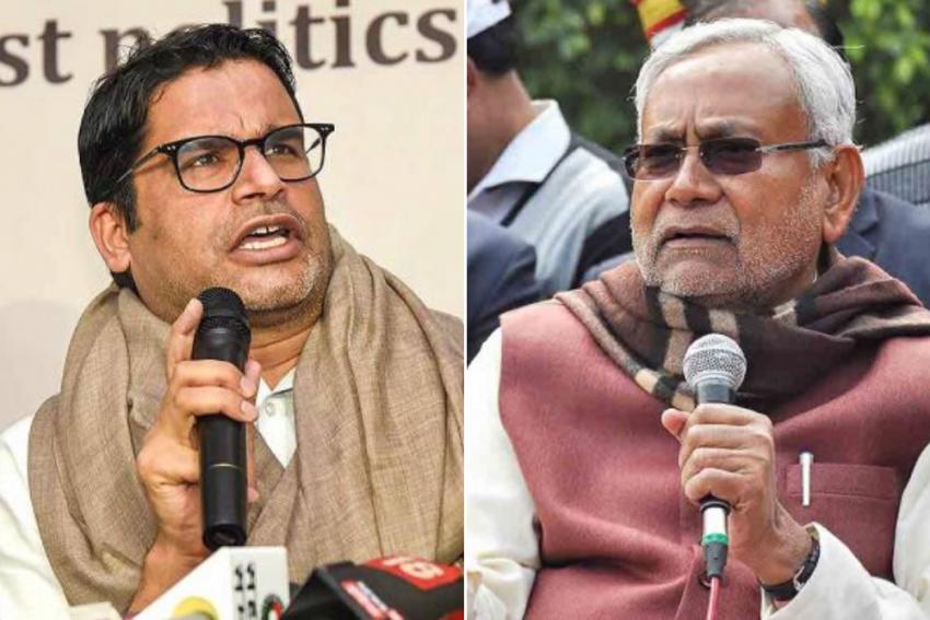 'People From Bihar Are Stuck And CM Is...': Prashant Kishor's Swipe At Nitish Kumar