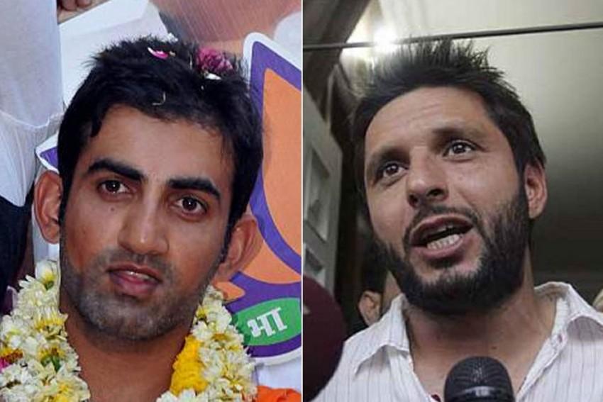 Gautam Gambhir Continues War Of Words With Shahid Afridi, Calls Former Pakistan Cricketer 'Traitor'