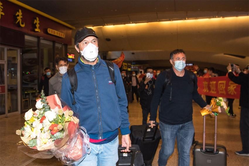 Wuhan Football Team Make Emotional Return To Coronavirus Ground Zero