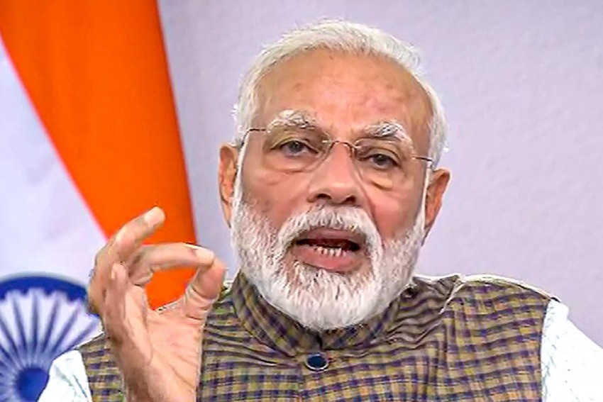 PM Narendra Modi To Share Video Message With People At 9 AM Friday