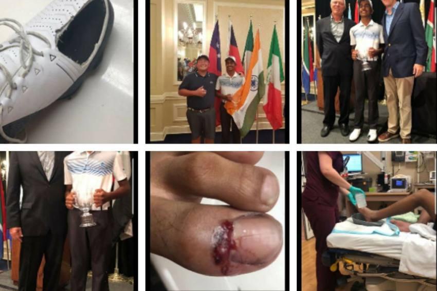 COVID-19: Teen Golfer Arjun Bhati Raises Rs 3.3 Lakh By Selling Torn Shoes