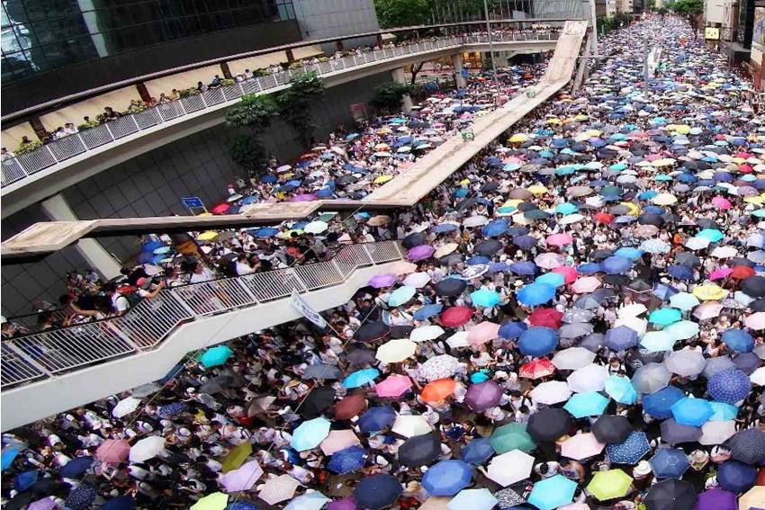 'We Have Boots' Is A Paean To Hong Kong's Pro-Democracy Protesters