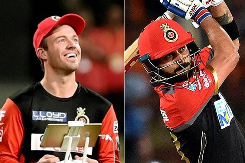 Good News For RCB Fans: Batting Superstars Virat Kohli And AB De Villiers Renew Their IPL Vows