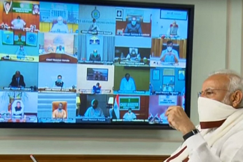 Exit Or Extension? PM Modi Holds Video Conference With CMs To Discuss Way Forward On Lockdown