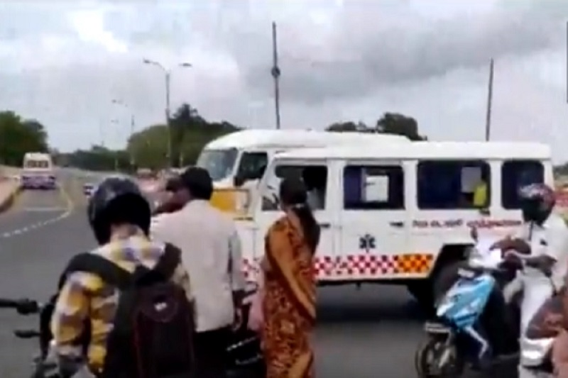 Ambulance In Tamil Nadu Stopped For VIP Convoy; Cops Say 'Were Imposing Lockdown'