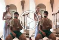 No Hairy Moments As Novak Djokovic Hands Clippers To Wife Jelena - WATCH