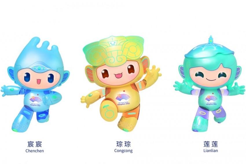 Robot Triplets Unveiled As Hangzhou 2022 Asian Games Mascots