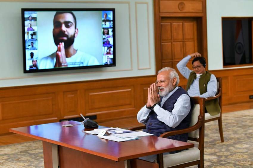PM Narendra Modi Discusses Coronavirus Lockdown With Virat Kohli, MS Dhoni, PV Sindhu; Top Sportspersons All Ears