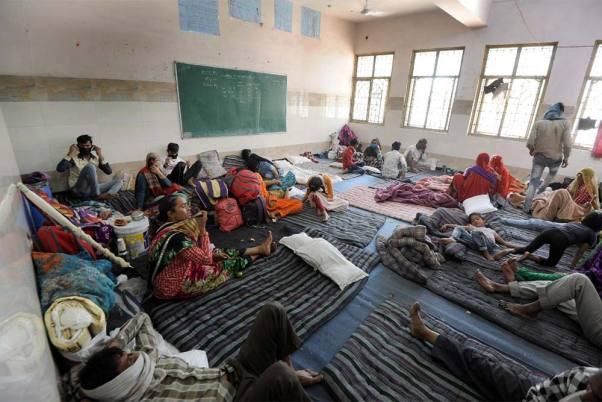 Coronavirus Lockdown: Migrant Workers Run Away From Quarantine Shelters In UP