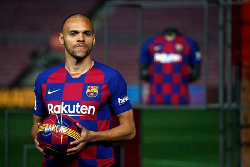 People See Me As The Emergency Signing But I Deserve To Be At Barcelona Martin Braithwaite