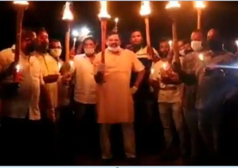 'Chinese Virus Go Back': BJP's Telangana MLA Leads Protest March Against Coronavirus