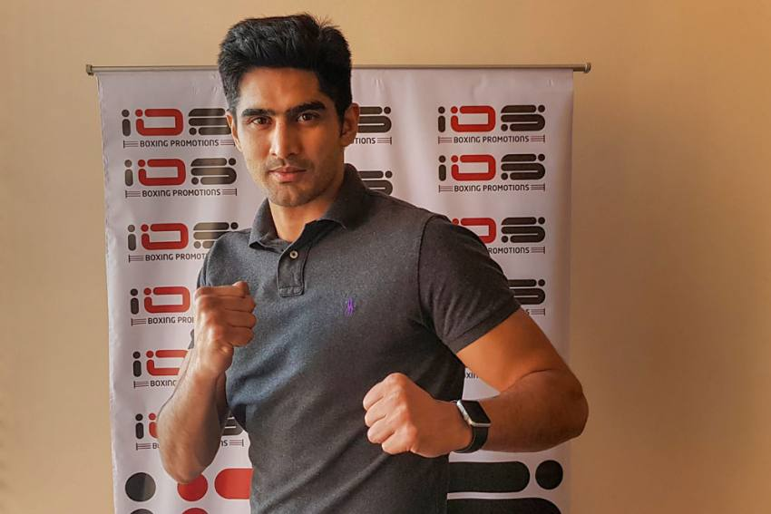 COVID-19: Vijender Singh Hopes For Pro Career To Resume In Second Half Of 2020