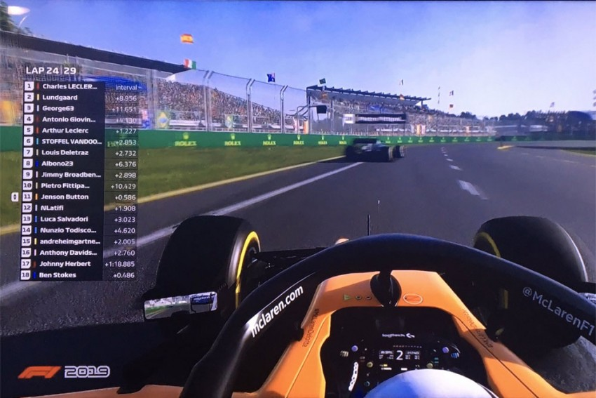 Charles Leclerc Wins Virtual Grand Prix In Australia As Ben Stokes Brings Up The Rear