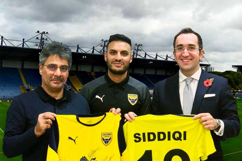 Real Kashmir Signs Kashif Siddiqui, Announces Official Partnership With English Club Oxford United