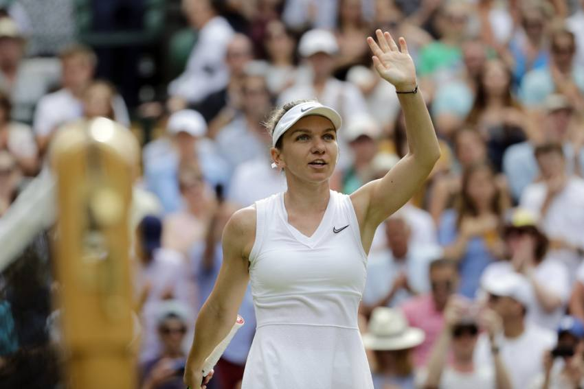 Can Run Without Pain On Injured Right Foot: Simona Halep