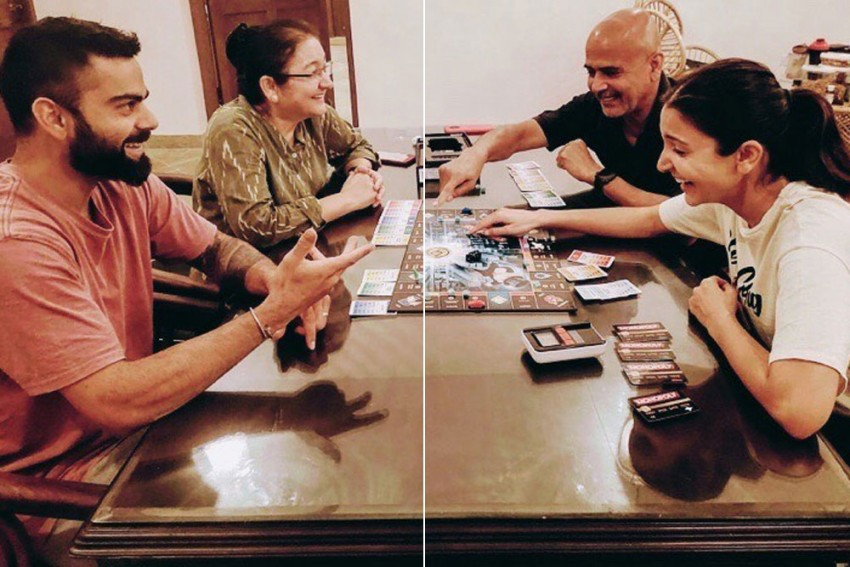 COVID-19 Lockdown: Monopoly Reveals Virat Kohli And Anushka Sharma's Competitive Sides As Star Couple Spend Time Indoors